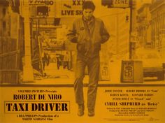 Taxi Driver, starring Robert De Niro, Cybill Shepherd, Jodie Foster and Harvey Keitel. Directed by Martin Scorsese (duh!), written by Paul Schrader. ($19.99)