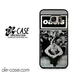 Oasis Black White Poster DEAL-8064 Samsung Phonecase Cover For Samsung Galaxy S7 / S7 Edge