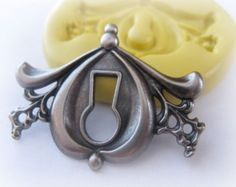 Key Hole Mold Sililcone Mould Resin Polymer Clay PMC by MoldMuse