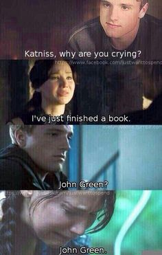 Hahaha accurate :'( <--- I wish I cried as pretty as Katniss at TFIOS. I Kim K cried all over that book lol