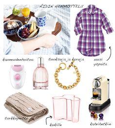 Äidit <3 Muoti Mielessä -blogin vinkit Sokoksesta äitienpäivään - Sokos.fi Polyvore, Image, Fashion, Moda, Fashion Styles, Fashion Illustrations
