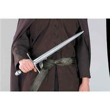 Official Lord Of The Rings Aragorn Sword Realistic Mens Fancy Dress Accessory