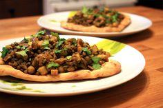 Indian Lentil & Chickpea Saute - wait. This looks delicious