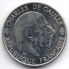 France : 1 Franc 1988 Charles De Gaulle Veiling in de Frankrijk,Europa (niet of voor €),Munten,Munten & Banknota's Categorie op eBid België
