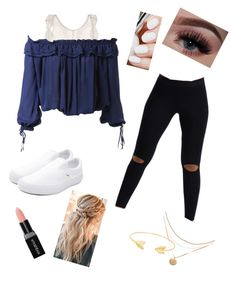 """B2SCHOOL💕"" by bent-leys on Polyvore featuring Eberjey, Dsquared2, Joah Brown, Vans, Smashbox and Lord & Taylor"