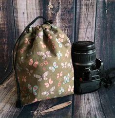 Dslr Camera Travel COZY  Organic Cotton by TJCameraAccessories, $25.00