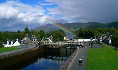 Caledonian Canal, Fort Augustus, Scotland.
