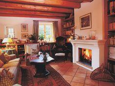 Attraktiv Offener Kamin In Traditioneller Gestaltung. #KaminOffen #Kamin #Fireplace  Www.ofenkunst.de