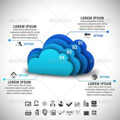Buy Cloud Computing Infographic by grki on GraphicRiver. Vector illustration of cloud computing infographic. ZIP includes free font link, and high resolut. Marketing Poster, Marketing Logo, Internet Marketing, Digital Marketing, Cloud Computing Technology, Cloud Computing Services, Technology Posters, Medical Technology, Cloud Infrastructure