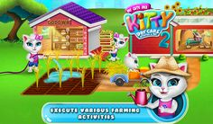 Take care of your little friend and help her to complete tons of Daily Routine Activities, Farm Activities, Outside Activities, Daycare Games, Pet Daycare, Activity Games, Fun Games, Free Games For Kids, Kitty Games