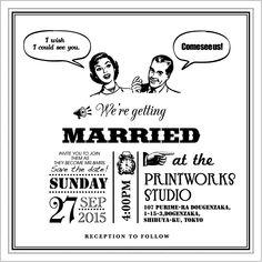 Type H – Printworks Studio Shibuya Wedding Wedding Paper, Mr Mrs, Save The Date, Getting Married, Wedding Ideas, Weddings, Type, Studio, Invitations