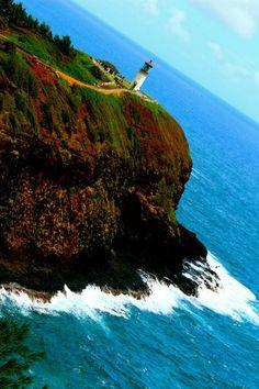 Kilauea Lighthouse in Kauai Kilauea Lighthouse, Kauai, Explore, Water, Outdoor, Gripe Water, Outdoors, Outdoor Games, The Great Outdoors