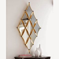 Online Shop metal frame wall decorative with gold powder coating Silver Framed Mirror, Silver Wall Clock, Mirror Art, Wall Mirrors, Mirror Ideas, Antique Wall Decor, Wall Art Decor, Farmhouse Wall Clocks, Gold Powder