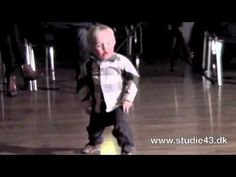 Baby dances hilariously to jailhouse rock http://huff.to/GJtP06
