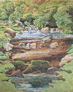 landscape mosaics | landscape mosaic art | Mosaic Landscape