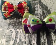 One last post for the night. Both Woody and Buzz are available on Etsy via the link below #woody #buzzlightyear #jessie #toystory #disney #disneybows #toystorybow #disneybound #dapper #dapperday #disneyland #disneyworld #waltdisney #waltdisneyworld #magickingdom #epcot #disneyside #dcp #bow #bows #bowtie #hair #hairbow #handmade #etsy #accessories #fashion #disneystyle #magicalmakers #dishandmadebrigade @disney_handmade_brigade…