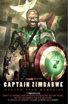 El pastor Evan Mawarire se ha convertido en el estandarte de esta revuelta.  Una bandera, un héroe y muchas redes sociales en Zimbabue La revuelta contra el régimen de Mugabe se ha ido desarrollando al ritmo de 'hashtags' y manifestaciones