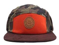 Miller 5-Panel Hat by BRIXTON