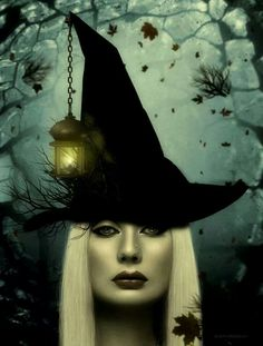 Witch beautiful luvvvv this Dragons, Witch Pictures, Halloween Pictures, Which Witch, Beautiful Witch, Steampunk, Witch Spell, The Worst Witch, Season Of The Witch