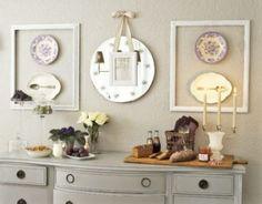 DIY- Objetos reciclados para decorar sua sala de jantar