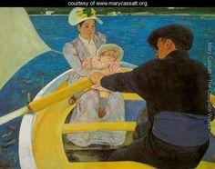 Boating Party - Mary Cassatt - www.marycassatt.org