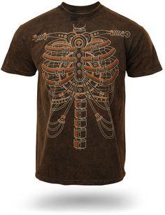 Steampunk Skeleton T-Shirt // La quiero!!!