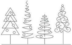 Classic Christmas Border design (UTH12505) from UrbanThreads.com