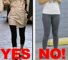 Agree, leggings are not pants agree