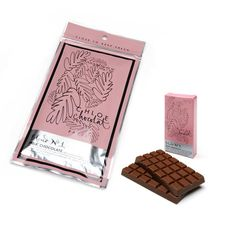 Milk Chocolate Bar by Chloe Chocolat, Paris