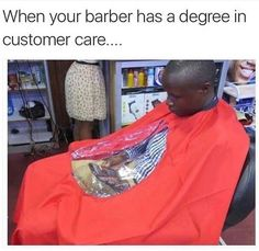 Check out this awesome post: Barber with customer service skills