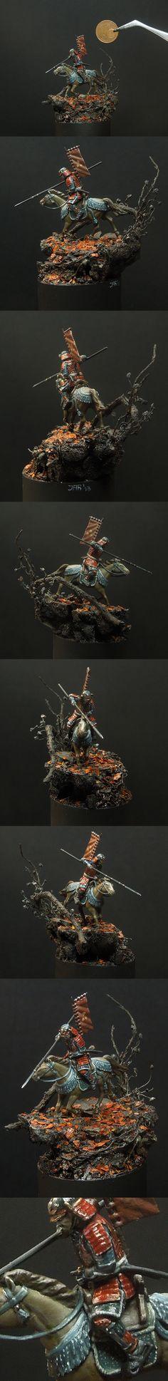 1:72 - Mounted Samurai