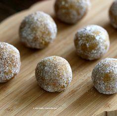 Pumpkin Snickerdoodle Cookie Dough Truffles