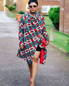 Stylish n trendy Afrocentric pieces ~African fashion, Ankara, kitenge, African… African Dresses For Women, African Print Dresses, African Attire, African Wear, African Women, African Prints, African Style, African Fabric, African Outfits