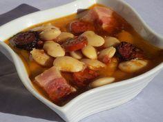 Fabada asturiana olla GM Paella, Olla Gm G, Spanish Food, Pot Roast, Crockpot, Food To Make, Good Food, Menu, Soup