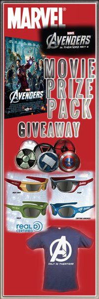 Don't miss out, 3 prize packs to win!