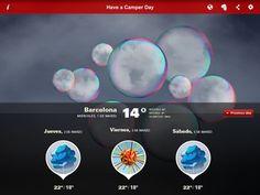 Camperday iPad app