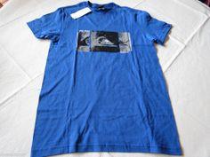 Suspect MTO VQ9 Quiksilver Men's S T shirt surf skate BQR0 royal blue aqyzt00531 #Quiksilver #tshirt