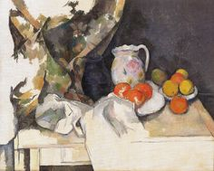 "the-barnes-art-collection: ""Still Life (Nature morte) by Paul Cézanne, The Barnes Foundation Barnes Foundation (Philadelphia), Collection Gallery, Room East Wall Medium: Oil on canvas"" Henri Matisse, Cezanne Still Life, Paul Cezanne Paintings, Barnes Foundation, Caravaggio, Art Watercolor, Paul Gauguin, Still Life Art, French Artists"
