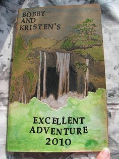 """Hawaii Travel Journal. Excellent!  #art #journal #travel #moleskine  (""""Grand"""" adventure would be great as well!)"""