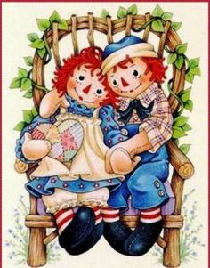 Raggedy Ann & Andy (130 pieces)