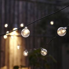 Clear Festoon LED Light Chain