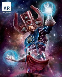 Galactus vs superman