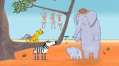 Dibujos animados para inculcar a los niños el amor por los animales