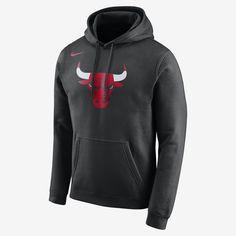 Nike Men s Chicago Bulls Logo Club Hoodie Men - Sports Fan Shop By Lids -  Macy s e950c74d030