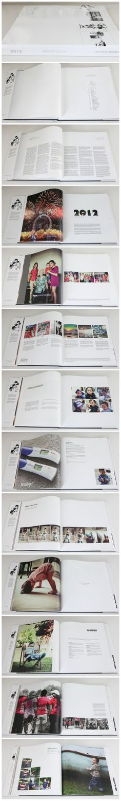 Our annual photobook / heirbook - a long time in the making!  - by Catch Stories, photobook designers