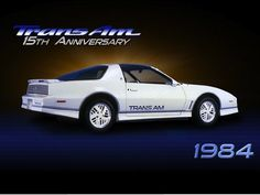1984 Pontiac Firebird 15th Anniversary Special Edition Trans Am