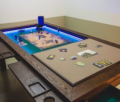 Game Tables - Browse our Table Range . Handcrafted Gaming Tables made for Board Games, Dining, Work, Tabletop, Coffee and more !
