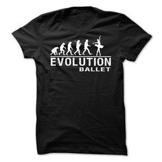 EVOLUTION BALLET T-Shirts, Hoodies. BUY IT NOW ==► https://www.sunfrog.com/Sports/EVOLUTION-BALLET.html?id=41382