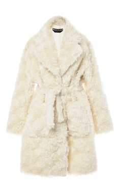Mohair And Cotton Teddy Bear Coat by ROCHAS Now Available on Moda Operandi