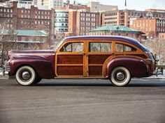 """1941 Chrysler Windsor Town and Country Nine-Passenger """"Barrelback"""" Station Wagon To be auctioned on Saturday, March 8, 2014 $275,000 - $350,000"""